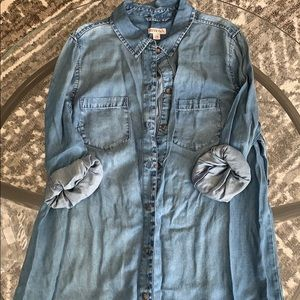 4/$25- Button-Up Shirt Dress